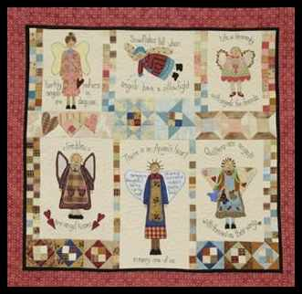 Angels Among Us- Applique