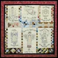 Angels Among Us - Stitchery